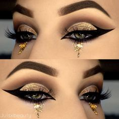 You should never underestimate the beauty of green eyes, especially if you know perfect ways to enhance it. And that is what we are here for!#makeup #makeuplover #makeupjunkie #eyemakeup