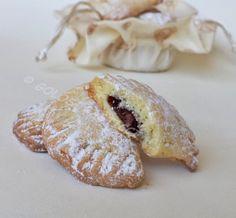 ravioli dolci alla nutella al forno ricetta Golosi Pasticci