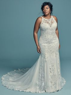 1309c6a2d6386 75 Best Plus Size Wedding Dresses images in 2019 | Bridal gowns ...