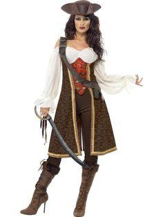 Women's High Seas Pirate Wench Costume