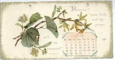 LONGFELLOW CALENDAR FOR 1897.