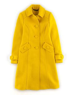 Lottie Coat WE453 Coats & Jackets at Boden