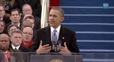 WATCH: President Obama Is Sworn In At The United States Capitol (VIDEO)
