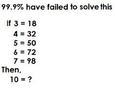 Solve this math and comment right answer Brain Teasers For Adults, Brain Teasers Riddles, Brain Games For Adults, Funny Puzzles, Maths Puzzles, Maths Riddles, Number Riddles, Mystery Riddles, Marketing Topics