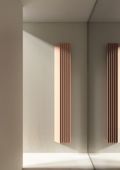 alberto meda designs modular radiator with pleated surfaces for tubes