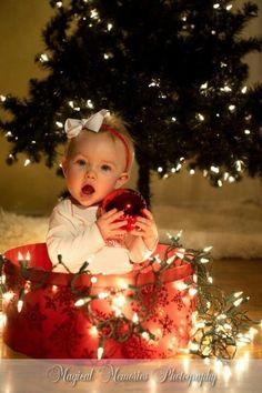 Christmas photo ideas,little girl