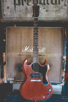 Gibson SG and Marshall