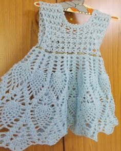 """BEAUTIFUL LOTUS BABY DRESS     This dress has been on several people's """"To-do"""" list ... and on mine for a long time as well. The..."""