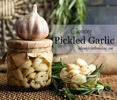Pickled garlic is an amazing way to preserve the harvest.  http://afarmgirlinthemaking.com