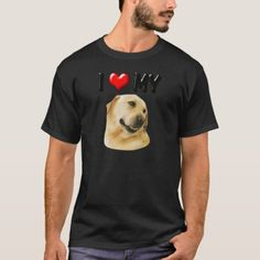 I Love My Lab T-Shirt   rottweiler shepherd mix, doberman rottweiler mix, rottweiler german #rottweilerdog #rottweilerpup #rottweilerfamily Rottweiler Puppies, Lab, My Love, Dogs, Mens Tops, T Shirt, My Boo, Tee, Pet Dogs