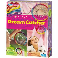 KidzMaker - Traumfänger, | myToys Dream Catcher Kit, Dream Catcher Craft, Dream Catchers, Toy Craft, Craft Kits, Light Crafts, Fun Crafts, Make Your Own, Make It Yourself