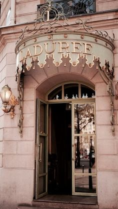 Laduree on the Upper East Side of NYC. The french macaroon obsession in New York City is almost as important as the cupcake one. There are so many fabulous places making them, but Laduree is the original. It is the rolls royce of macarons | Luxurydotcom via: mindyweiss.com