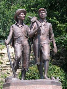 Tom Sawyer & Huckleberry Finn. Favorite. :)
