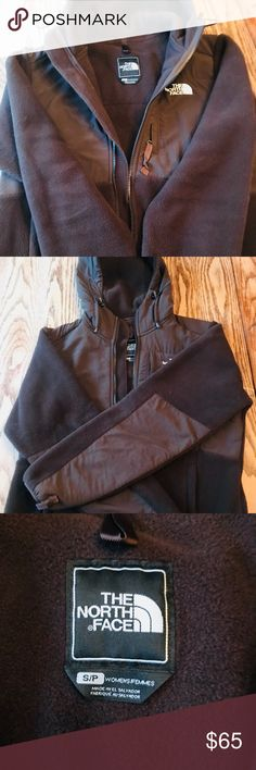 The North Face brown women's fleece jacket Comfy and cozy! Brown North face women's jacket! No blemishes, great condition! The North Face Jackets & Coats