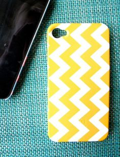 chevron iphone case that comes in many colours. I'd love the strawberry or pool coloured one. $40 on etsy.