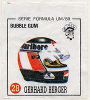 Colecção Pastilhas Gorila - Série Formula 1 - Campeonato de 1989 | Tralhas Varias