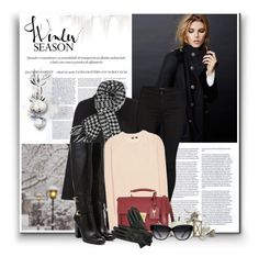 """..."" by bliznec ❤ liked on Polyvore featuring Dansk, SUITEBLANCO, Monsoon, J Brand, Chloé, Yves Saint Laurent, Oasis and Elizabeth and James"