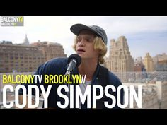CODY SIMPSON · Music has played an integral part in Cody's life since he was a child · Videos · BalconyTV