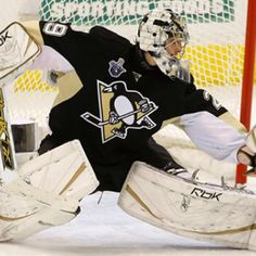 I love Marc-Andre Fleury... just not when he plays against the Blues