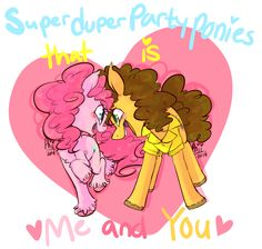 pinkie pie x cheese sandwich - Google Search