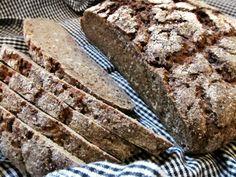 Auringonkukka-ruissekaleipä –  Sunflower Seed Rye Bread Rye Bread, Sunflower Seeds, Pine, Desserts, Food, Pine Tree, Tailgate Desserts, Deserts, Essen