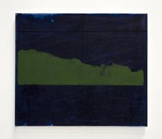 John Zurier, Bláfeldur, 2015, Oil on linen, 63.5 x 73.5 cm