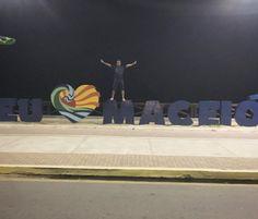 Eu também AMO Maceió! (em Orla de Ponta Verde - Maceió/AL)