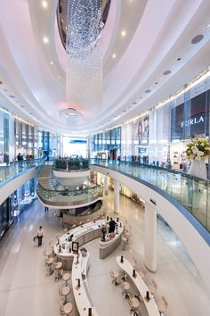 The ever so fabulous and chic look that Westfield's London have created inside their shopping centre.
