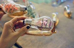 Lightbulb ship