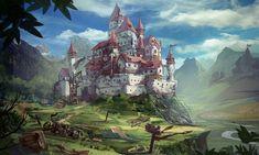 ArtStation - Styles Castle Design, jeremy chong
