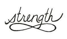 strength tattoos | Strength Tattoo Infinity