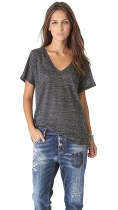 Enza T-shirts are the coziest, year round wardrobe staple.