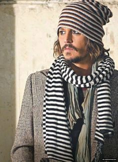 <3 Johnny Depp, male actor, eye candy, moustache, stylish, sexy, steaming hot, celeb, portrait, photo