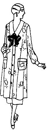 Past Patterns: #6940: Ladies' and Misses' Smock: Circa 1925-1926