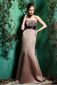 Charming sleeveless trumpet / mermaid bridesmaid dress