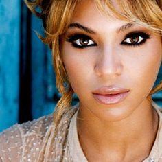 Wedding makeup Inspiration #2... I love Bey's makeup because she always uses natural tones...