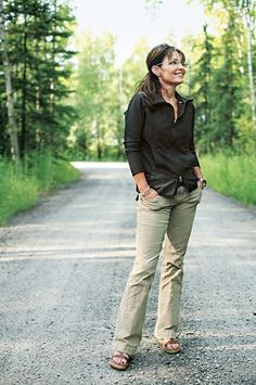 Gov. Sarah Palin. She beat the old boy's club and the oil gas guys at their own games in Alaska.