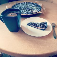 Triple chocolate tart