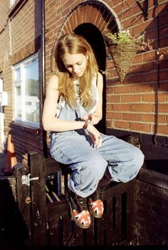 a girl with dr.martens
