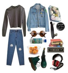 """""""762"""" by overy ❤ liked on Polyvore featuring T By Alexander Wang, Dr. Martens, Puji and Spicher and Company"""