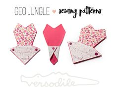 """Cloth Pad Sewing Pattern 