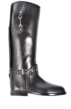 Dav Eve Ombre Rain Boots in Black/Red at Shop Adorn - Portland ...