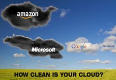 How clean is your cloud? Amazon and Microsoft are still using dirty coal for electricity. TELL them you want a clean, green internet: http://www.greenpeace.org/international/en/campaigns/climate-change/cleanourcloud/petition/