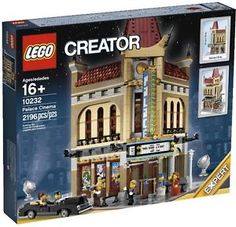 LEGO-PALACE-CINEMA-SET-10232-CITY-MODULAR-CREATOR-BUILDING-MOVIE-THEATER