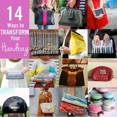 14 ways to transform your handbags - handbagheaven.com
