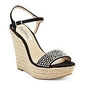 INC International Concepts Women's Shoes, Peach Platform Wedge Sandals