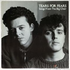 Classic 80's Brit pop from Tears For Fears, their best selling album on vinyl.