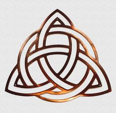Triquetra Car Window Decal ~ Silver Car Decal ~ Charmed Window Decal ~ Celtic Knot Window Decal ~ Wicca ~ Witch ~ Trinity ~ Triquetra by SummerlandBB on Etsy Trinity Logo, Trinity Knot Tattoo, Celtic Trinity Knot, Celtic Knots, Outdoor Metal Wall Art, Metal Art, Silver Car, Laser Cutter Projects, Triquetra