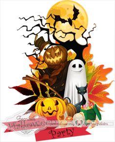 Scrapbooking TammyTags -- TT - Designer - Fecnikek, TT - Item - Element, TT - Style - Cluster, TT - Theme - Halloween