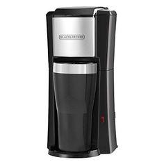BLACKDECKER CM618 Single Serve Coffee Maker Black
